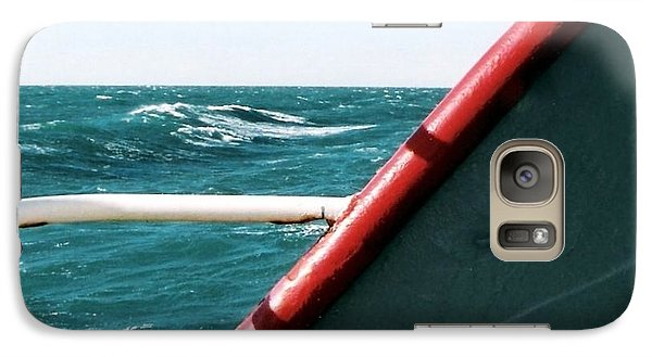 Galaxy Case featuring the photograph Deep Blue Sea Of The Gulf Of Mexico Off The Coast Of Louisiana Louisiana by Michael Hoard
