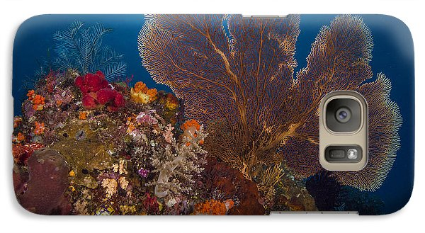 Galaxy Case featuring the photograph Deep Fan Of Bali by Terry Cosgrave