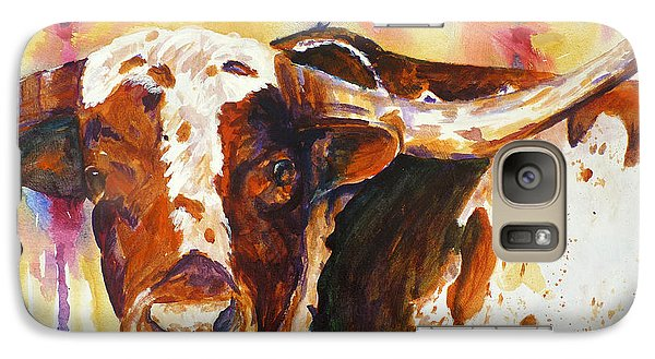 Galaxy Case featuring the painting Deep In The Heart Of Texas by P Maure Bausch