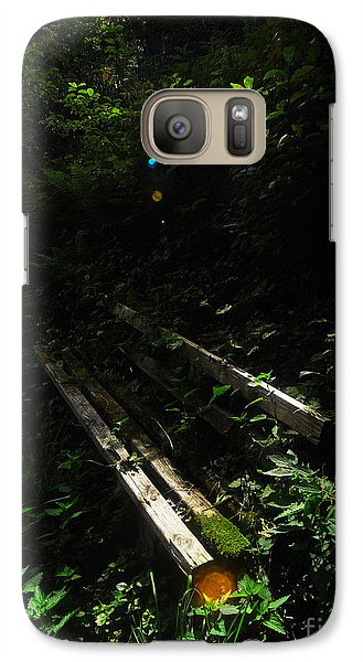 Galaxy Case featuring the photograph Deep In The Woods by Andy Prendy
