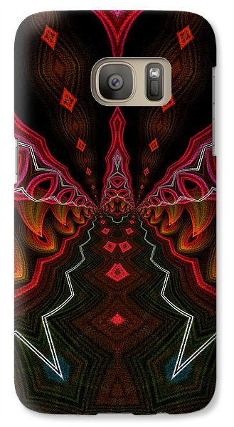 Galaxy Case featuring the digital art Deep In Thought by Owlspook