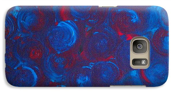 Galaxy Case featuring the painting Deep by Jacqueline McReynolds