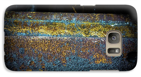 Galaxy Case featuring the photograph Deep Rust by Craig Perry-Ollila