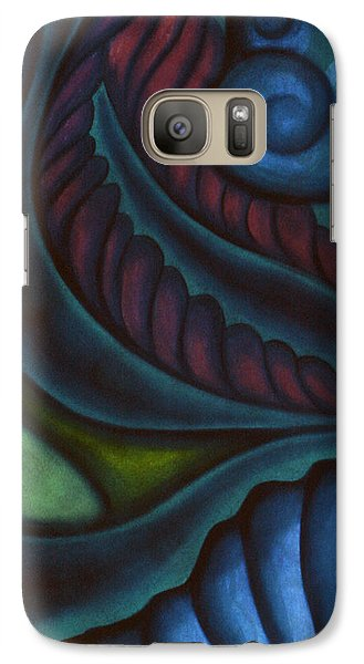 Galaxy Case featuring the pastel Deep by Susan Will