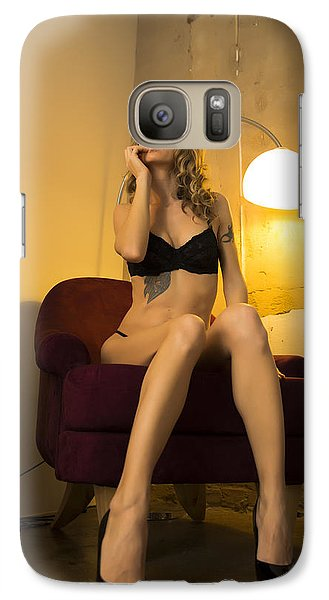 Galaxy Case featuring the photograph Deep Thoughts 1 by Mez