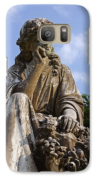 Galaxy Case featuring the photograph Deep Thoughts by Andy Crawford