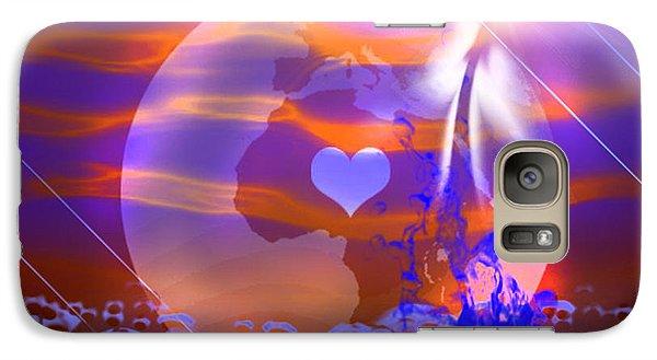 Galaxy Case featuring the digital art Deep Transformation by Ute Posegga-Rudel