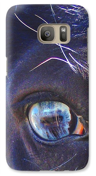 Galaxy Case featuring the photograph Deeper Into Ojo Sarco by Anastasia Savage Ealy