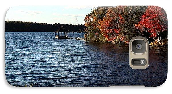 Galaxy Case featuring the photograph Deer Lake Park by Allen Beilschmidt