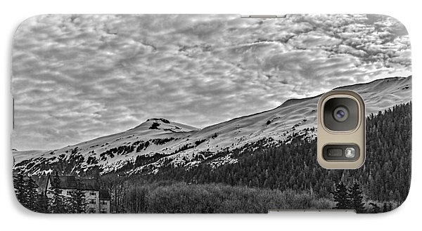 Galaxy Case featuring the photograph Deer Mountain Bw by Timothy Latta