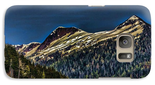 Galaxy Case featuring the photograph Deer Mountain by Timothy Latta