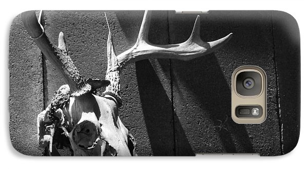 Galaxy Case featuring the photograph Deer Skull by Brooke T Ryan