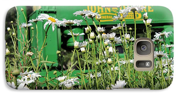 Galaxy Case featuring the photograph Deere 1 by Lynn Sprowl
