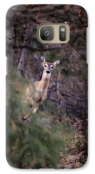 Galaxy Case featuring the photograph Deer's Stomping Grounds. by Joshua Martin