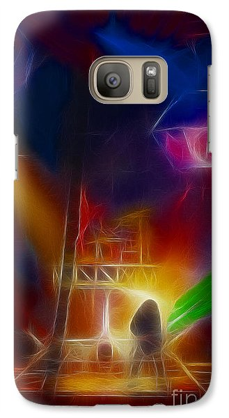 Def Leppard Galaxy S7 Case - Def Leppard-adrenalize-gf10-fractal by Gary Gingrich Galleries