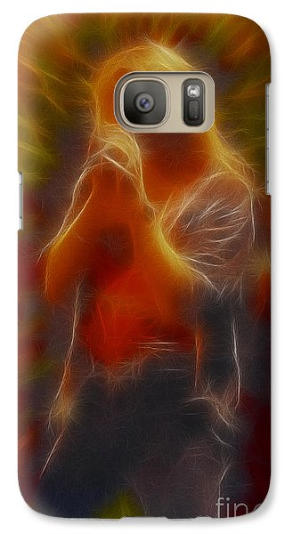 Def Leppard-adrenalize-joe-gb20-fractal Galaxy S7 Case by Gary Gingrich Galleries
