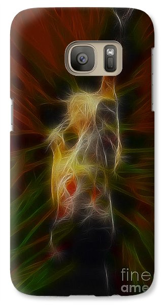 Def Leppard Galaxy S7 Case - Def Leppard-adrenalize-joe-gb22-fractal-1 by Gary Gingrich Galleries