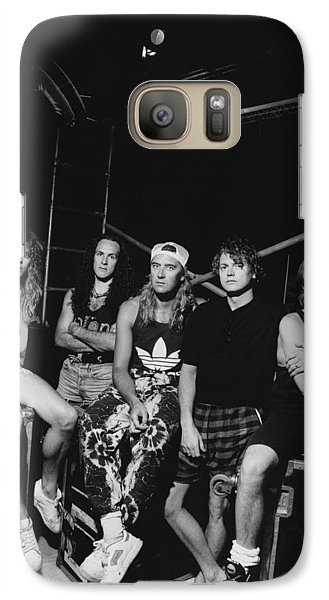 Def Leppard - Adrenalize Tour B&w 1992 Galaxy Case by Epic Rights