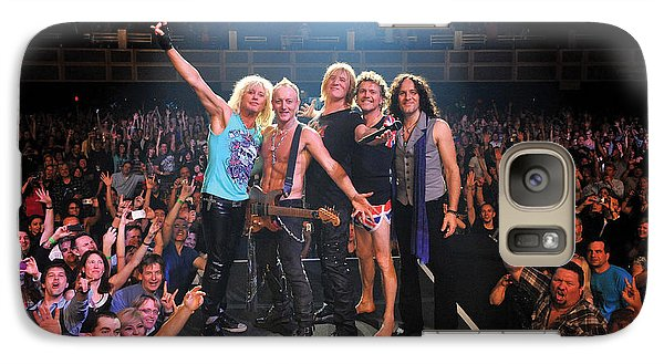Def Leppard - Viva! Hysteria At The Hard Rock 2013 Galaxy Case by Epic Rights