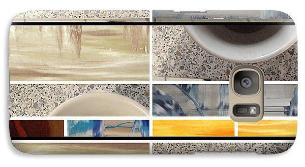 Galaxy Case featuring the photograph Defense De Fumer Part Two by Sir Josef - Social Critic - ART