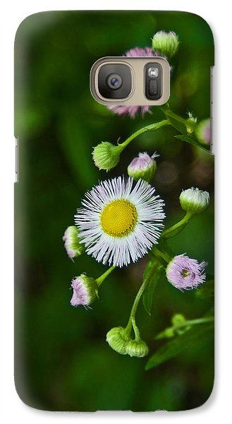 Galaxy Case featuring the photograph Delicate Pla 528 by G L Sarti
