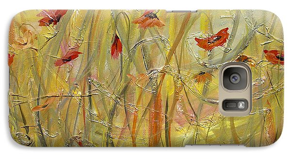 Galaxy Case featuring the painting Delicate Poppies by Dorothy Maier