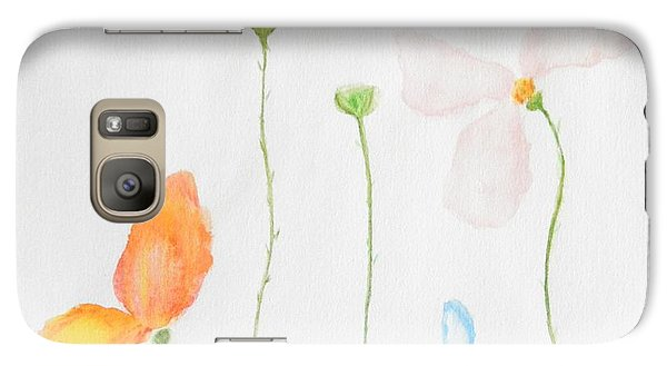 Galaxy Case featuring the painting Delicate  by Reina Resto