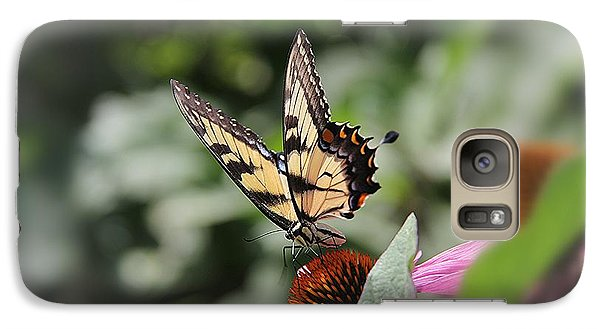 Galaxy Case featuring the photograph Delicate Wings by Yumi Johnson