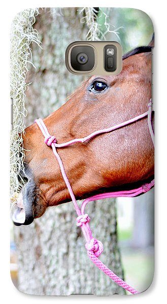 Galaxy Case featuring the photograph Delicious by Laura DAddona