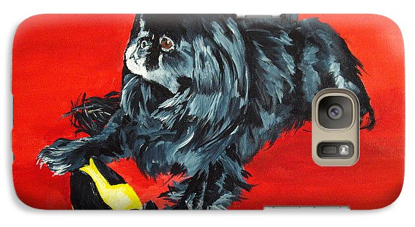 Galaxy Case featuring the painting Delilah by Ellen Canfield
