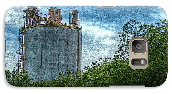 Galaxy Case featuring the photograph Delray Tower by MJ Olsen