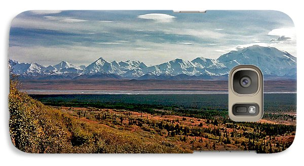 Galaxy Case featuring the photograph Denali Colors by Jeremy Rhoades