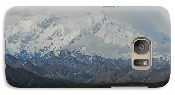 Galaxy Case featuring the photograph Denali by Karen Molenaar Terrell