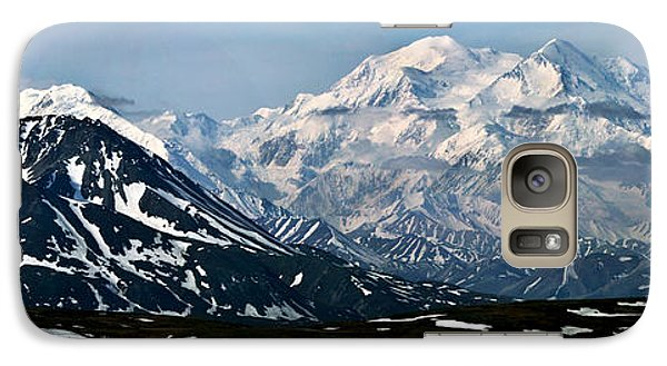 Galaxy Case featuring the photograph Denali National Park Panorama by John Haldane