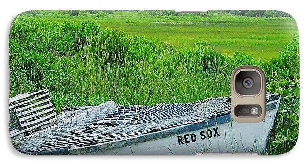 Galaxy Case featuring the photograph Dennis Cape Cod And The Red Sox by Lizi Beard-Ward