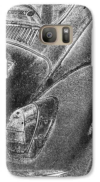 Galaxy Case featuring the photograph Dented Ego by Jean OKeeffe Macro Abundance Art