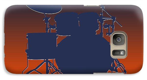 Denver Broncos Drum Set Galaxy S7 Case by Joe Hamilton