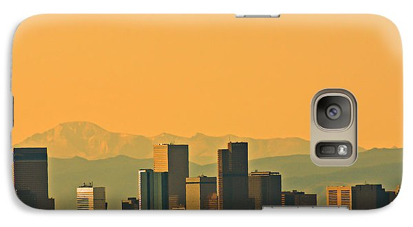 Galaxy Case featuring the photograph Denver Skyline by Colleen Coccia