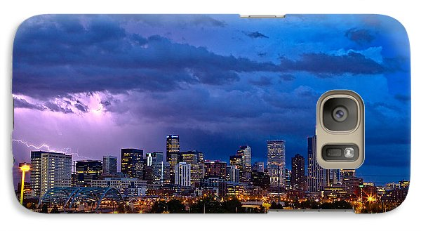 Landscape Galaxy S7 Case - Denver Skyline by John K Sampson