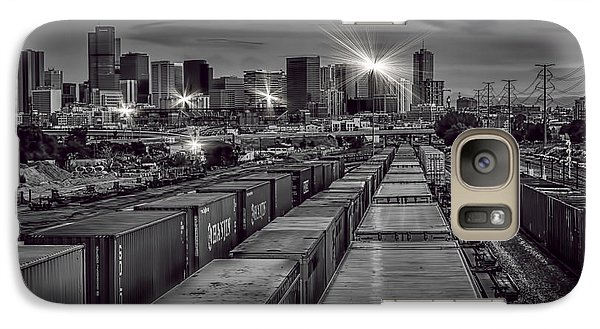 Galaxy Case featuring the photograph Denver's Underbelly by Kristal Kraft