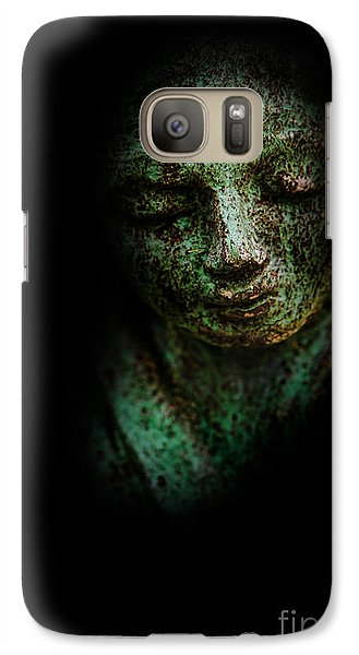 Galaxy Case featuring the photograph Depression by Lee Dos Santos