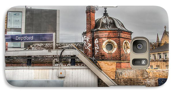 Galaxy Case featuring the photograph Deptford Station by Ross Henton