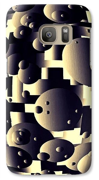 Galaxy Case featuring the digital art Depth Of Thought by Susan Maxwell Schmidt