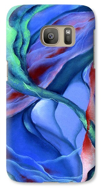 Galaxy Case featuring the pastel Depths by Susan Will