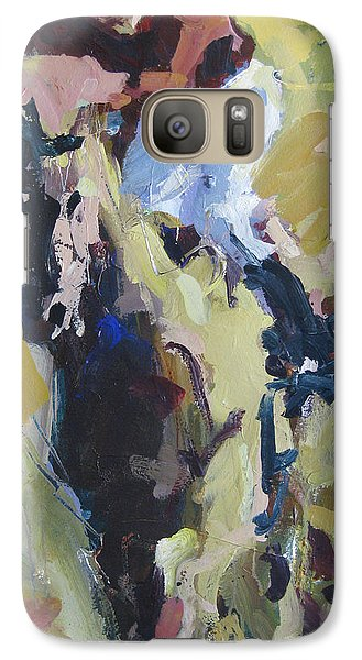 Galaxy Case featuring the painting Derby Dwellers by Robert Joyner