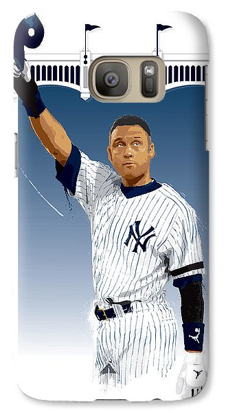 Derek Jeter 3000 Hits Galaxy Case by Scott Weigner