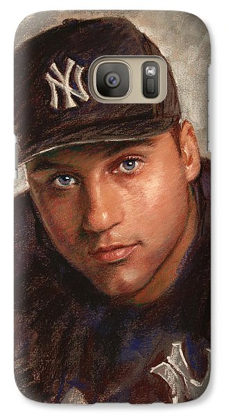 Derek Jeter Galaxy Case by Viola El