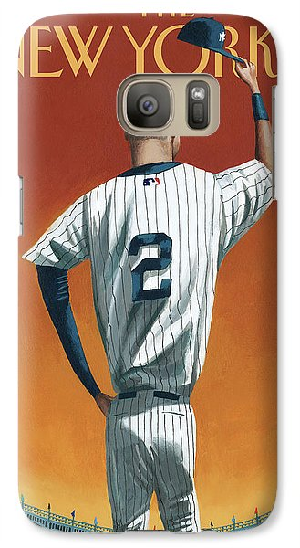 Derek Jeter Bows Galaxy Case by Mark Ulrikse
