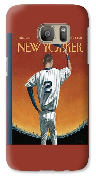 Derek Jeter Bows Galaxy S7 Case