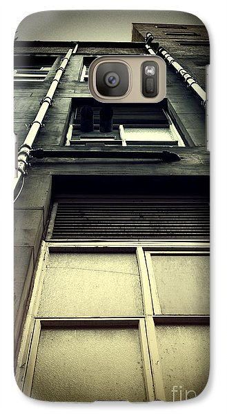Galaxy Case featuring the photograph Derelict Building by Craig B